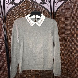 Forever 21 collared sweater